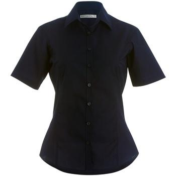 Textil Mulher camisas Kustom Kit K742F Preto