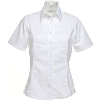 Textil Mulher camisas Kustom Kit K742F Branco