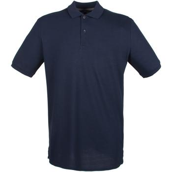 Textil Homem Polos mangas curta Henbury HB101 Marinha