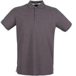 Textil Homem Polos mangas curta Henbury HB101 Carvão vegetal