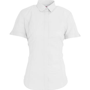 Textil Mulher camisas Brook Taverner BK133 Branco
