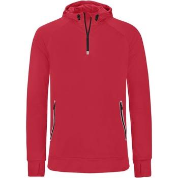 Textil Homem Sweats Proact PA360 Vermelho