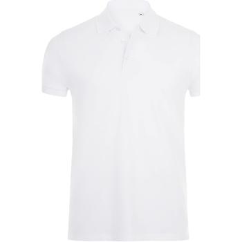 Textil Homem Polos mangas curta Sols 01708 Branco