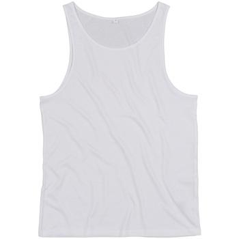 Textil Tops sem mangas Mantis M133 Branco