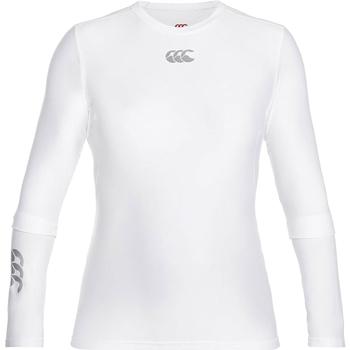 Textil Homem T-shirt mangas compridas Canterbury CN360 Branco