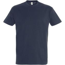 Textil Homem T-Shirt mangas curtas Sols 11500 Marinha