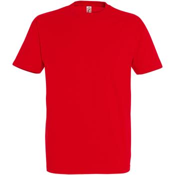 Textil Homem T-Shirt mangas curtas Sols 11500 Vermelho