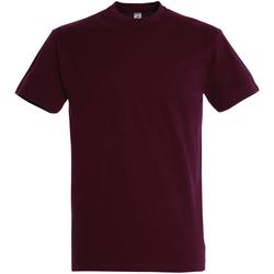 Textil Homem T-Shirt mangas curtas Sols 11500 Borgonha