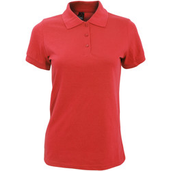 Textil Mulher Polos mangas curta Sols 10573 Vermelho