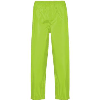 Textil Homem Calças de treino Portwest PW167 Amarelo