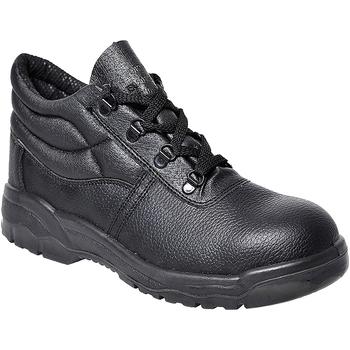 Sapatos Homem Sapato de segurança Portwest PW302 Preto