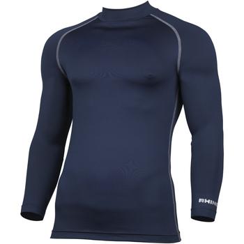 Textil Homem T-shirt mangas compridas Rhino RH001 Marinha