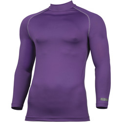 Textil Homem T-shirt mangas compridas Rhino RH001 Púrpura