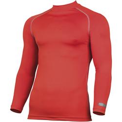 Textil Homem T-shirt mangas compridas Rhino RH001 Vermelho