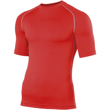 Textil Homem T-Shirt mangas curtas Rhino RH002 Vermelho