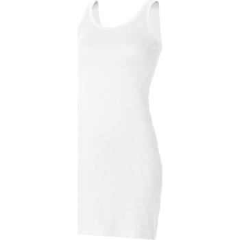 Textil Mulher Tops sem mangas Skinni Fit SK104 Branco