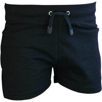 Textil Rapaz Shorts / Bermudas Skinni Fit SM062 Preto