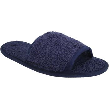 Sapatos Chinelos Towel City TC064 Marinha