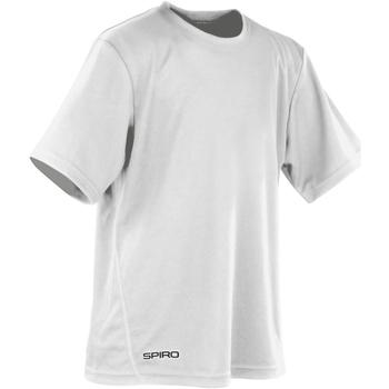 Textil Rapaz T-Shirt mangas curtas Spiro S253J Branco