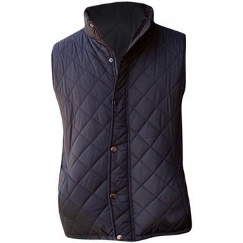 Textil Homem Casacos de malha Front Row FR903 Preto
