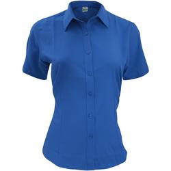 Textil Homem Camisas mangas curtas Henbury HB596 Real