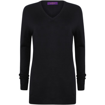 Textil Mulher camisolas Henbury Cashmere Touch Marinha