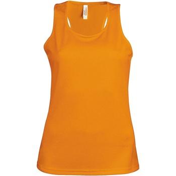 Textil Mulher Tops sem mangas Kariban Proact Proact Orange