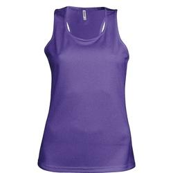 Textil Mulher Tops sem mangas Kariban Proact Proact Púrpura