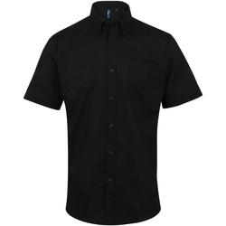 Textil Homem Camisas mangas curtas Premier PR236 Preto