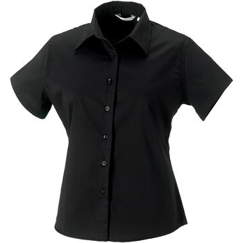 Textil Mulher camisas Russell J917F Preto