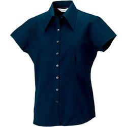Textil Mulher camisas Russell J955F Marinha