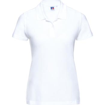 Textil Mulher Polos mangas curta Russell J577F Branco