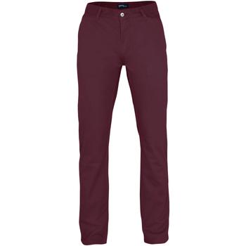 Textil Homem Chinos Asquith & Fox AQ050 Borgonha