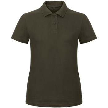 Textil Mulher Polos mangas curta B And C ID.001 Brown
