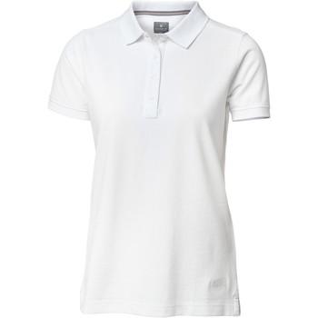 Textil Mulher Polos mangas curta Nimbus Yale Branco