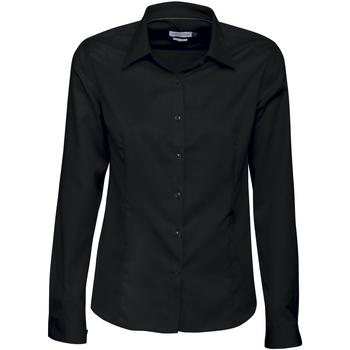 Textil Mulher camisas J Harvest & Frost JF003 Preto