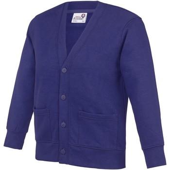 Textil Criança Casacos de malha Awdis Academy Púrpura