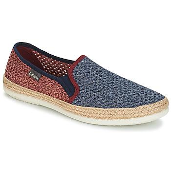 Sapatos Homem Alpargatas Bamba By Victoria ANDRE ELASTICOS REJILLA BICO Azul / Vermelho