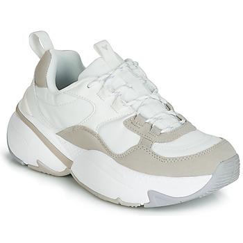 Sapatos Mulher Sapatilhas Victoria AIRE NYLON/SERRAJE PU Branco