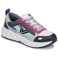 Sapatos Mulher Sapatilhas Victoria ARISTA MULTICOLOR Branco / Rosa