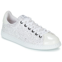 Sapatos Mulher Sapatilhas Victoria TENIS GLITTER Branco