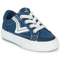 Sapatos Criança Sapatilhas Victoria TRIBU LONA RETRO Azul
