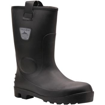 Sapatos Homem Sapato de segurança Portwest PW331 Preto