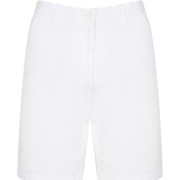 Textil Homem Shorts / Bermudas Front Row FR605 Branco
