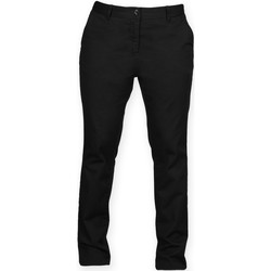 Textil Mulher Chinos Front Row FR622 Preto