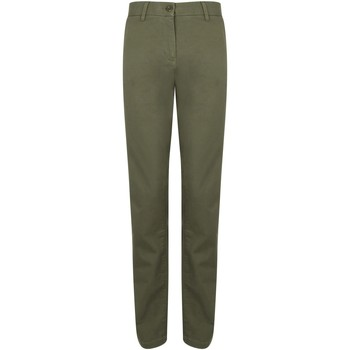 Textil Mulher Chinos Front Row FR622 Khaki