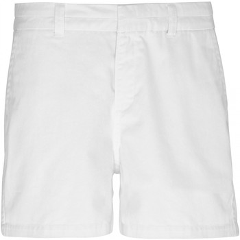 Textil Mulher Shorts / Bermudas Asquith & Fox AQ061 Branco