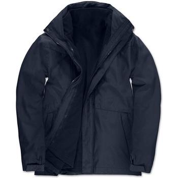Textil Homem Parkas B And C Corporate Marinha