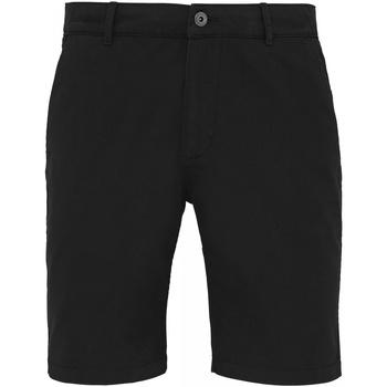 Textil Homem Shorts / Bermudas Asquith & Fox AQ051 Preto