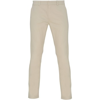 Textil Mulher Chinos Asquith & Fox Chino Natural